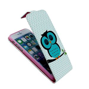 Slapend uiltje iPhone 6 flipcase