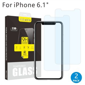 Set van 2 stuks Tempered Glass Screen protector iPhone XR