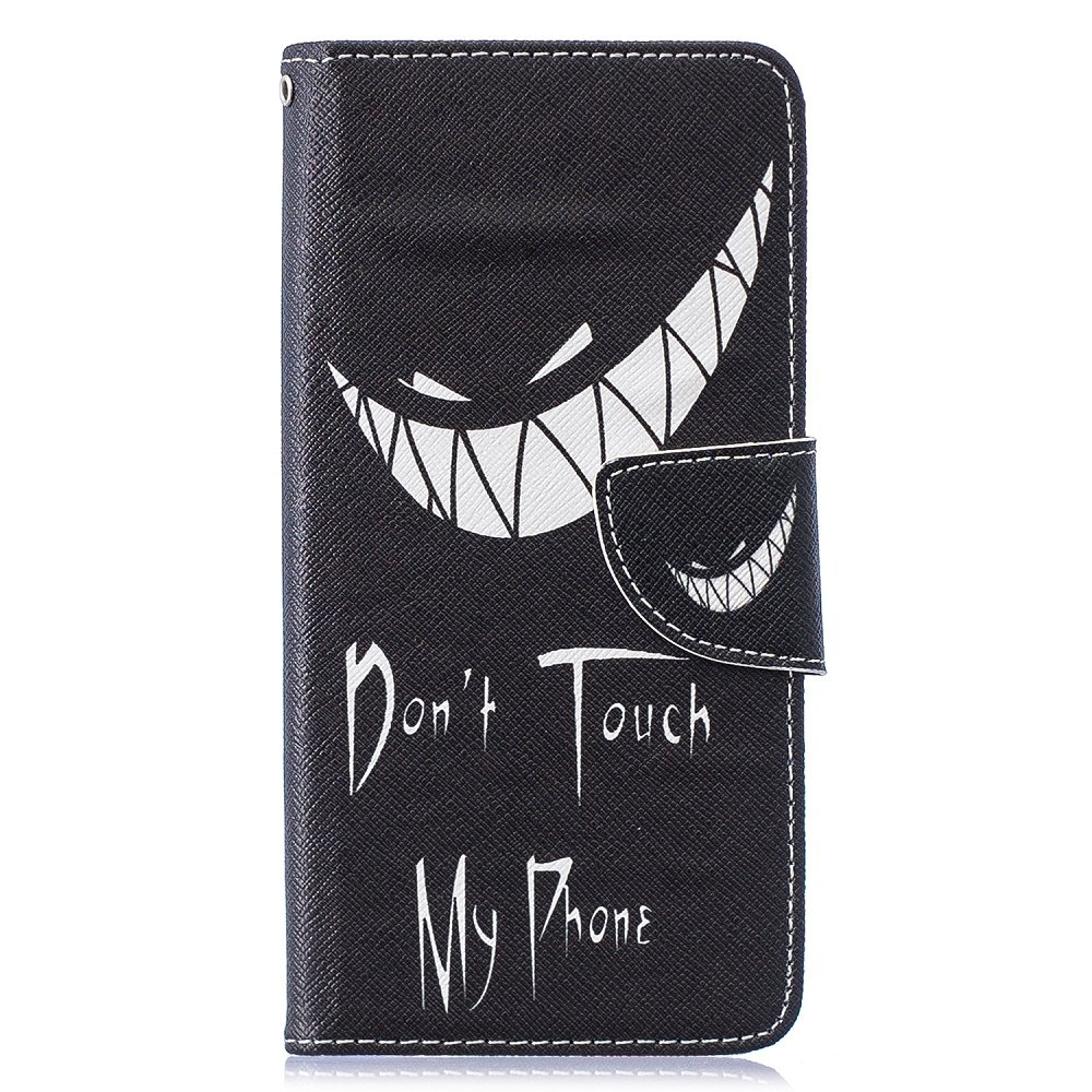 Dont touch my phone Samsung Galaxy S10 portemonnee hoesje