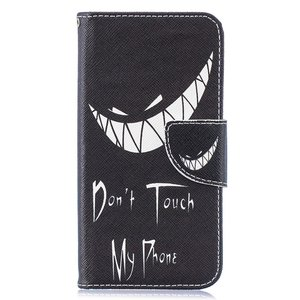 Dont touch my phone Samsung Galaxy S10e portemonnee hoesje