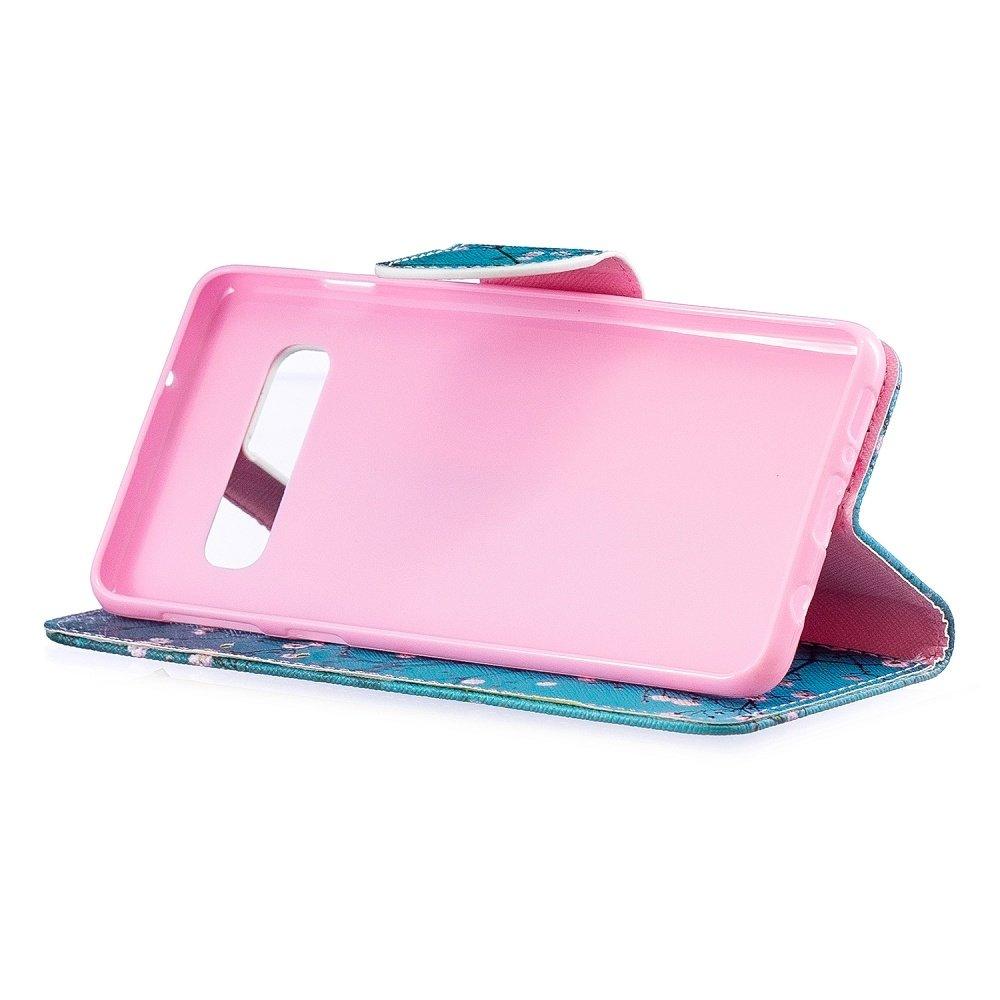 Samsung S10 portemonnee hoesje bloesem
