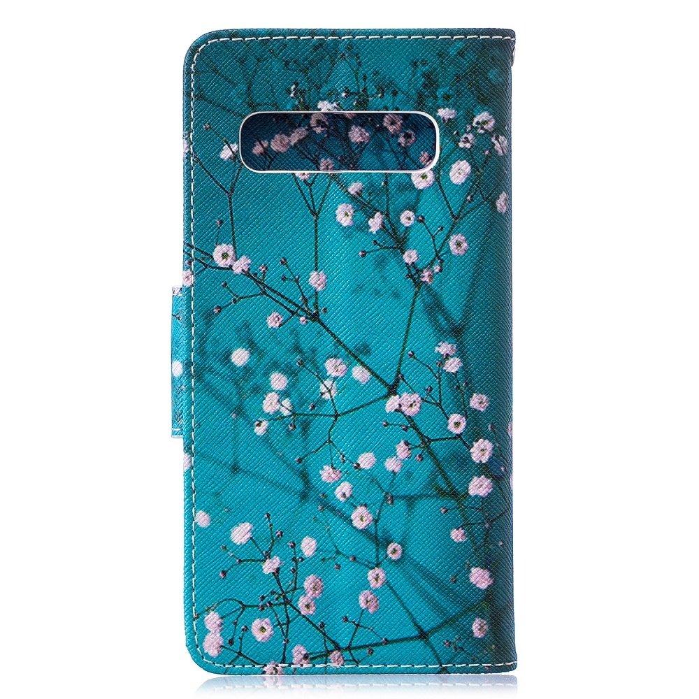 Samsung S10e portemonnee hoesje bloesem