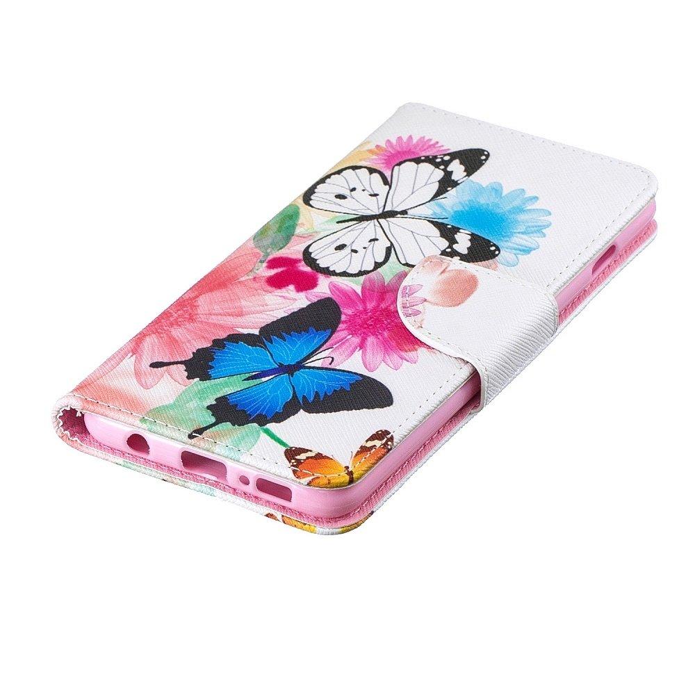 Vlinders o kleuren Samsung S10 portemonnee hoesje