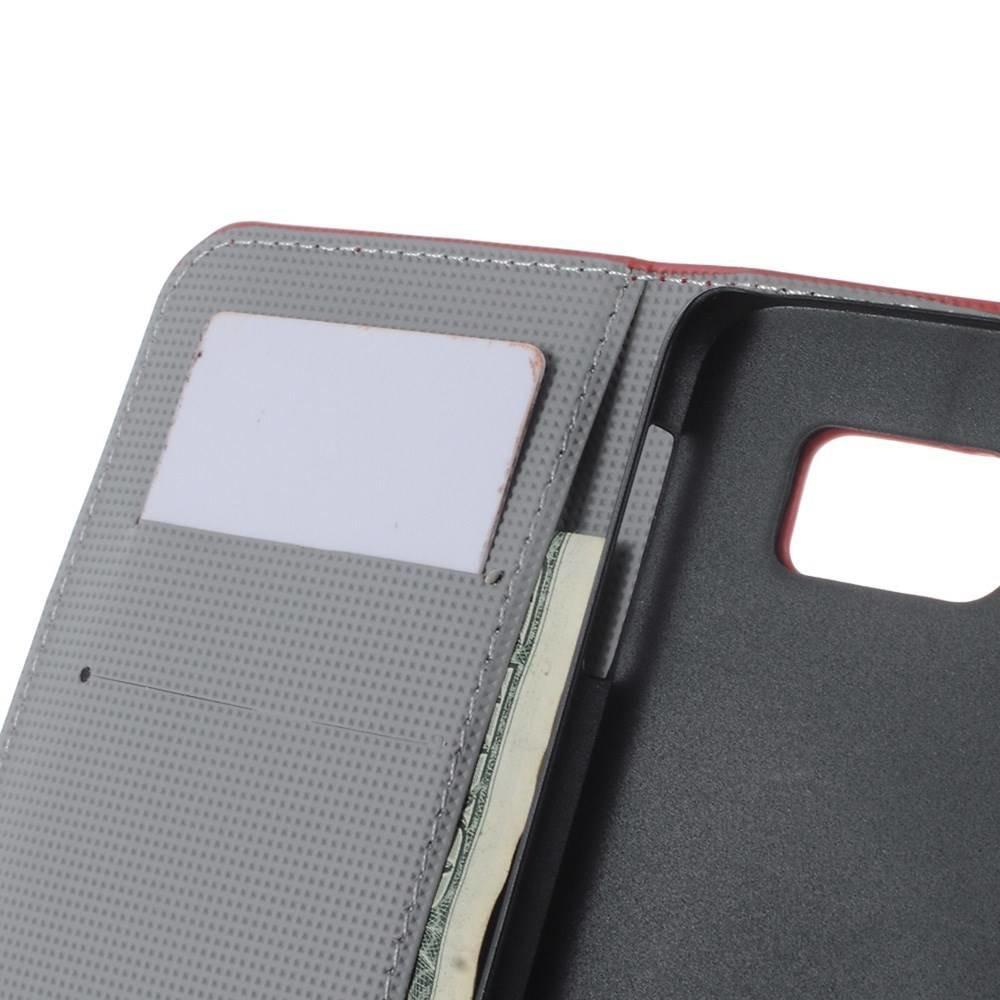 Britse vlag Samsung Galaxy S6 portemonnee hoesje