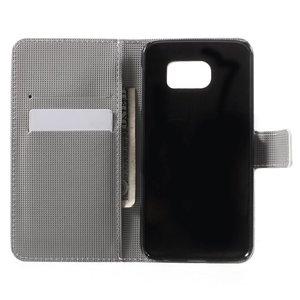 Uiltjes Samsung Galaxy S6 portemonnee hoesje