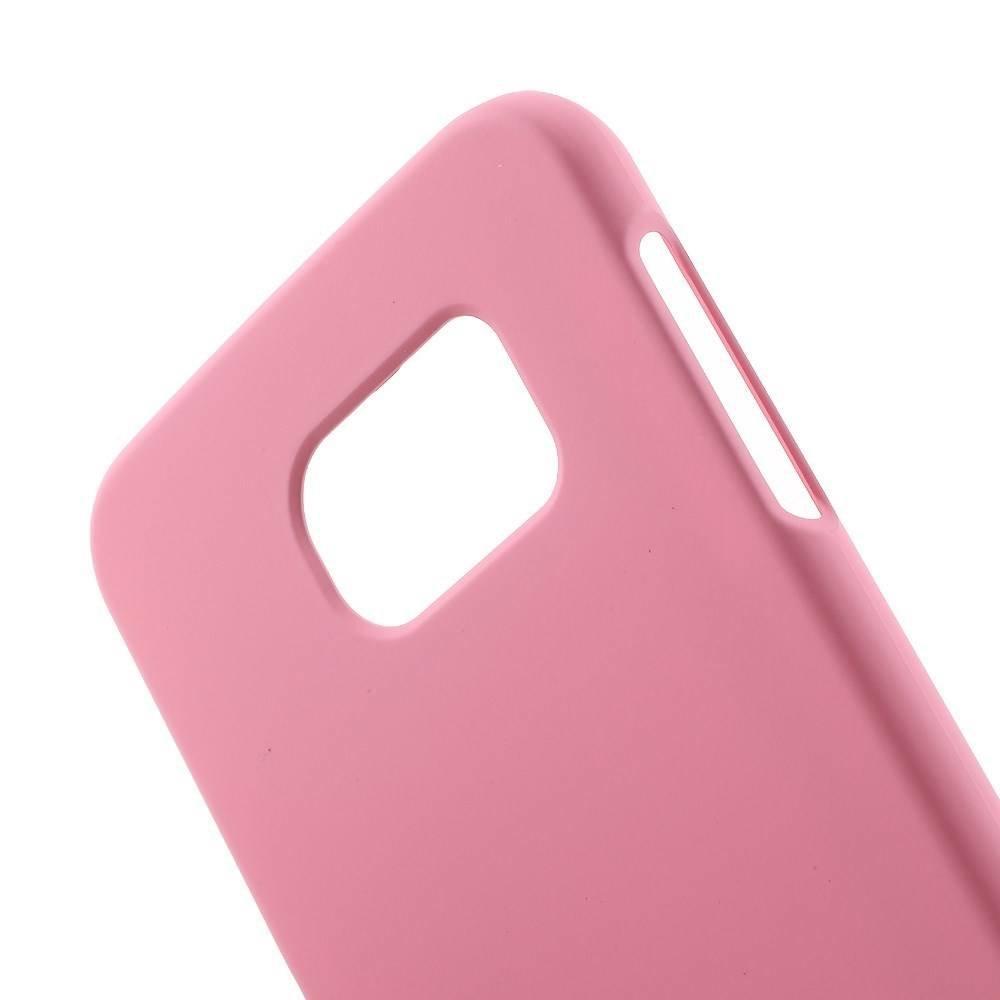 Roze Effen Hardcase Samsung Galaxy S6 hoesje
