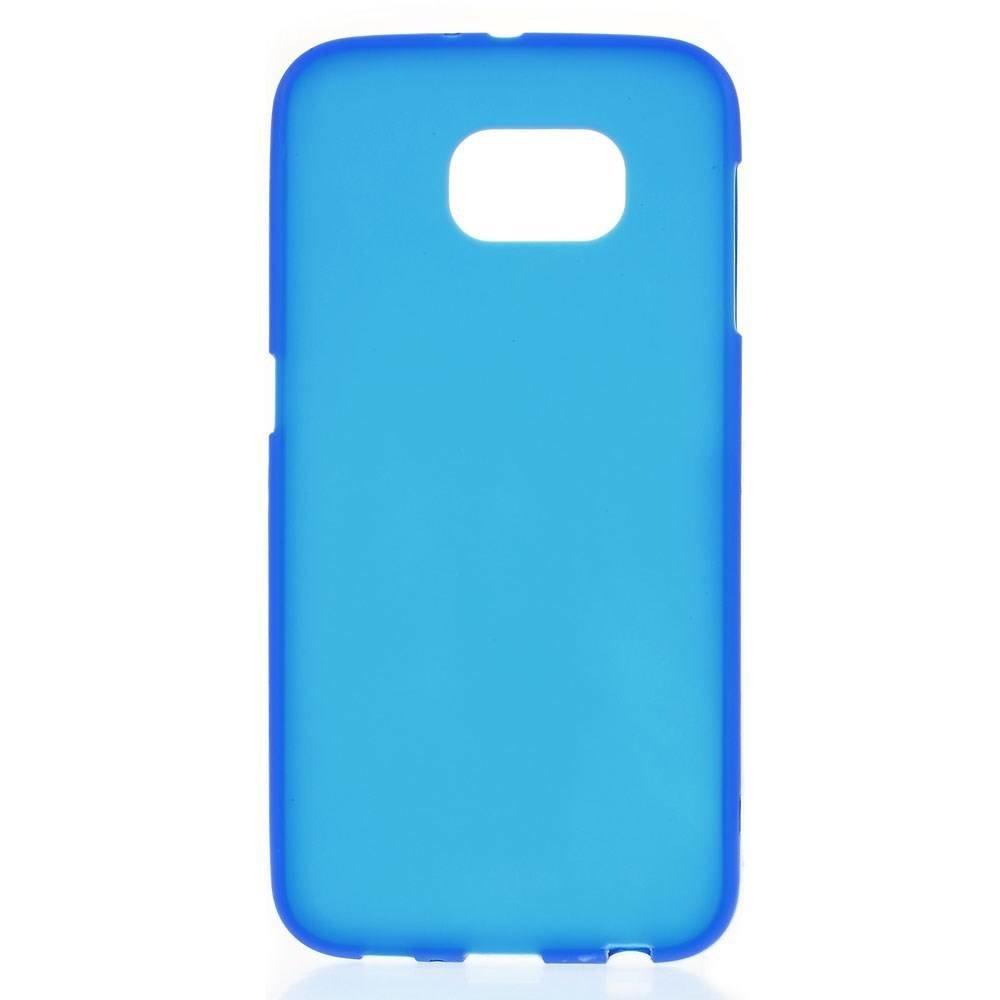 Blauw Samsung Galaxy S6 TPU hoes