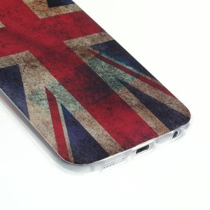 Britse vlag Samsung Galaxy S6 TPU hoes