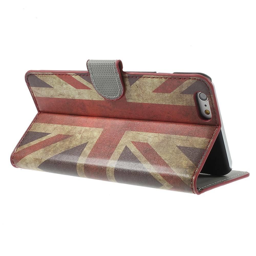 Britse vlag iPhone 8 en iphone 7 portemonnee hoes
