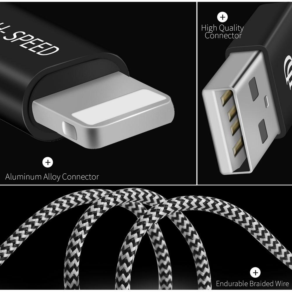 Dux Ducis Lightning kabel gevlochten koortje lekker sterk