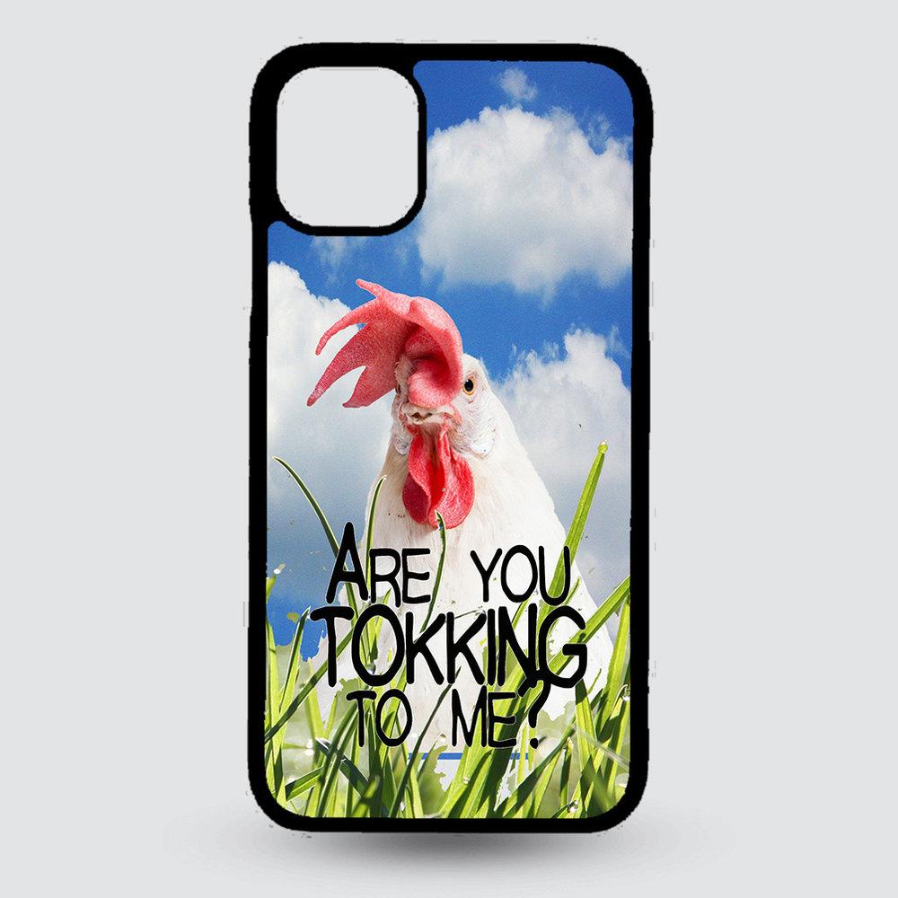 Artbandits iPhone 11 hardcase Are you tokking to me ?