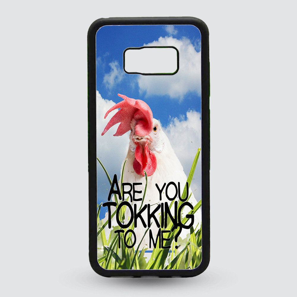 Artbandits Hardcase Are you tokking to me ?  Samsung Galaxy S8+