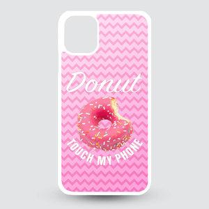 Artbandits iPhone 11 hardcase Donut touch my phone!