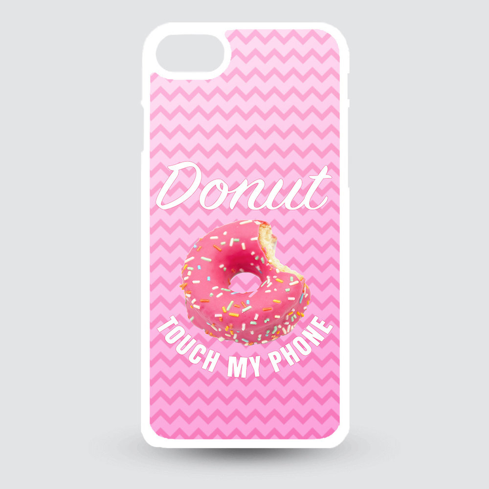 Artbandits iPhone 7 en iPhone 8 - Donut touch my phone!