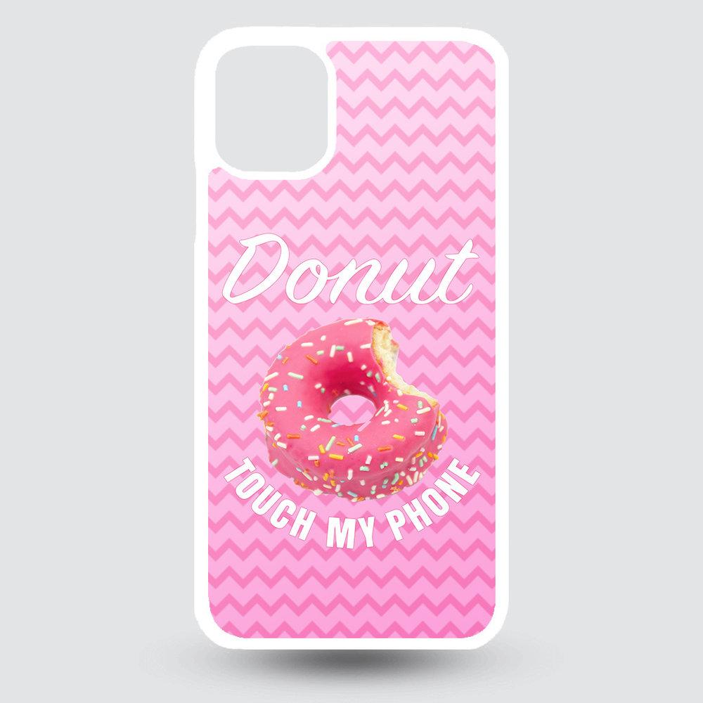 Artbandits iPhone 11 Pro MAX hardcase Donut touch my phone!