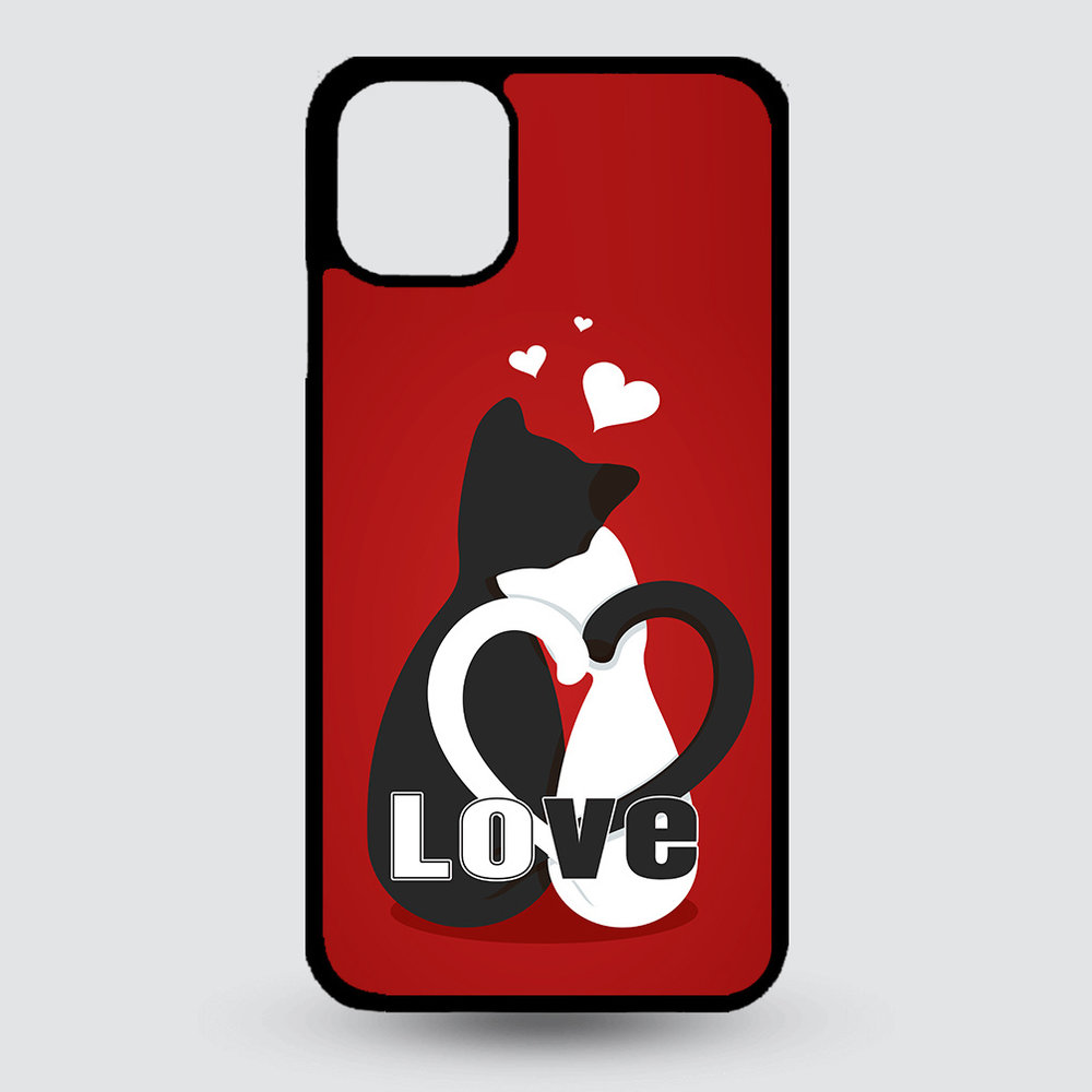 Artbandits iPhone 11 hardcase Love Kittens