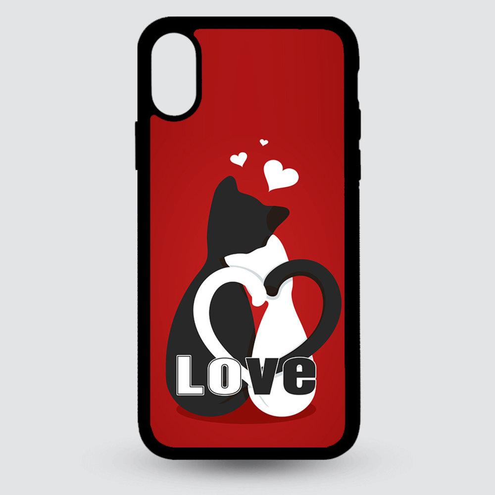 Artbandits iPhone X en Xs - Love Kittens