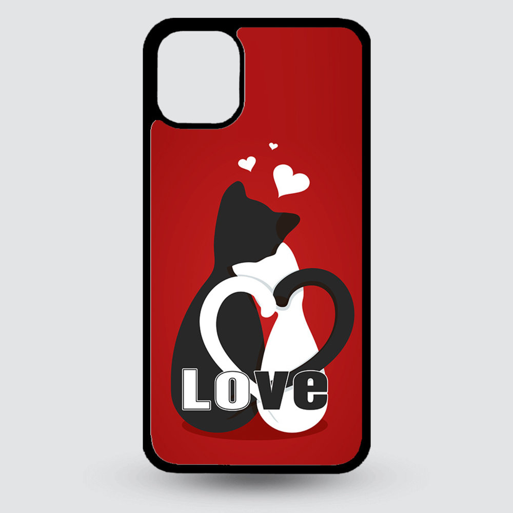 Artbandits iPhone 11 Pro MAX hardcase Love Kittens