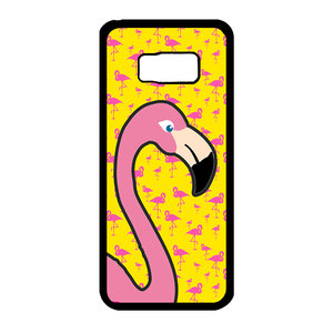 Artbandits Samsung Galaxy S8+ Big Flamingo