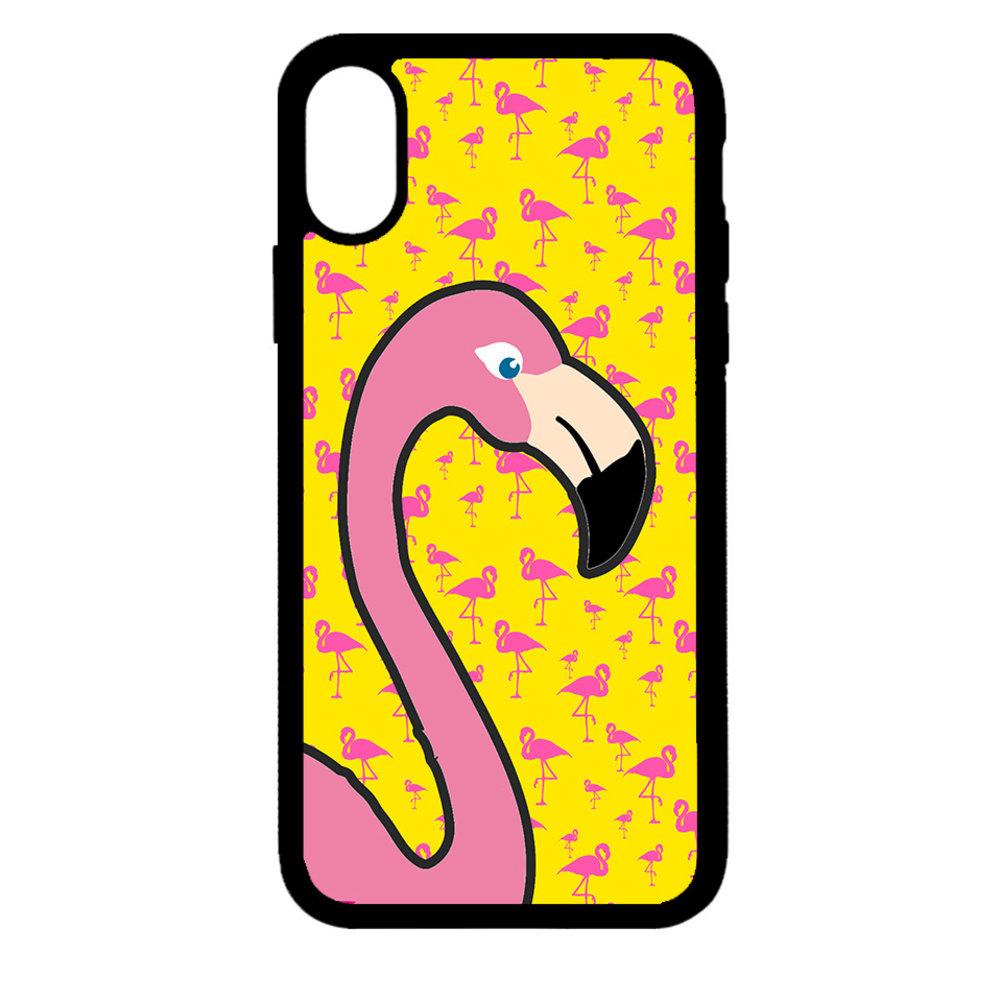 Artbandits iPhone X en Xs - Big Flamingo
