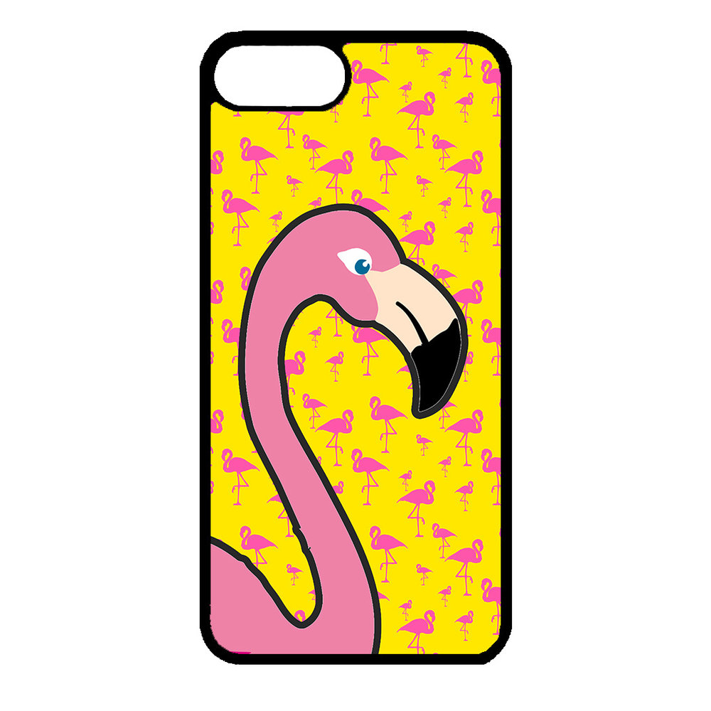 Artbandits iPhone 7+ en iPhone 8+ Big Flamingo