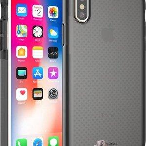 iparts4u Schokbestendig iPhone X Bumper Hoesje Zwart