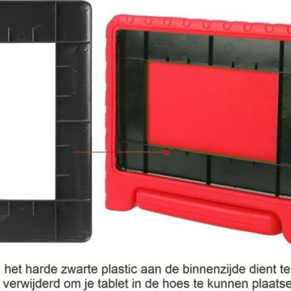 iparts4u Kinderhoes iPad Air 3 rood kidscover