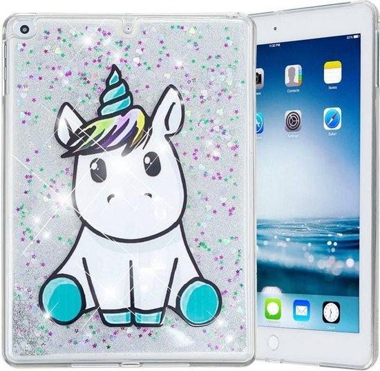 iparts4u Unicorn Siliconen Bescherm Hoes iPad 2017/2018/Air 1/2