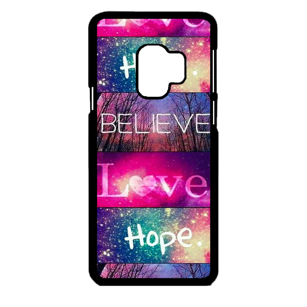 Artbandits Samsung S9 - Believe Love Hope