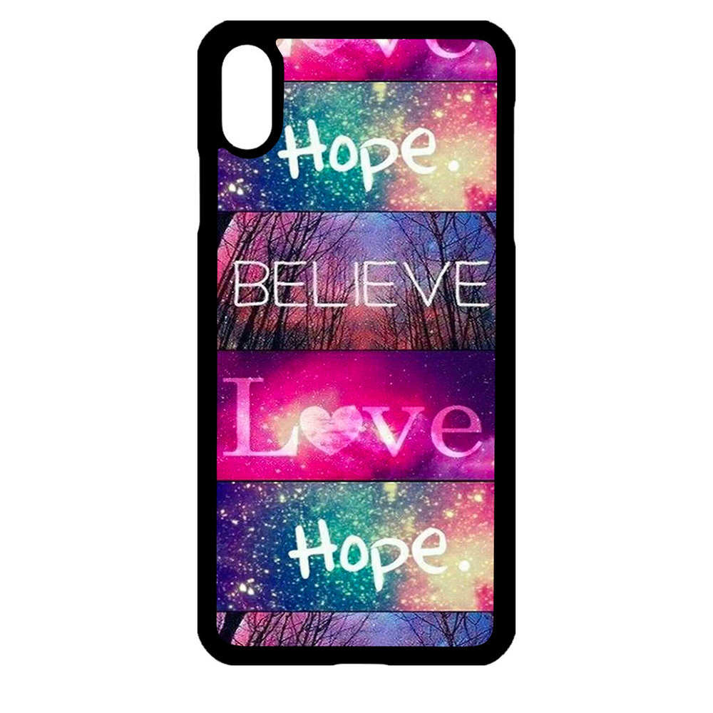 Artbandits iPhone Xs MAX - Believe Love Hope