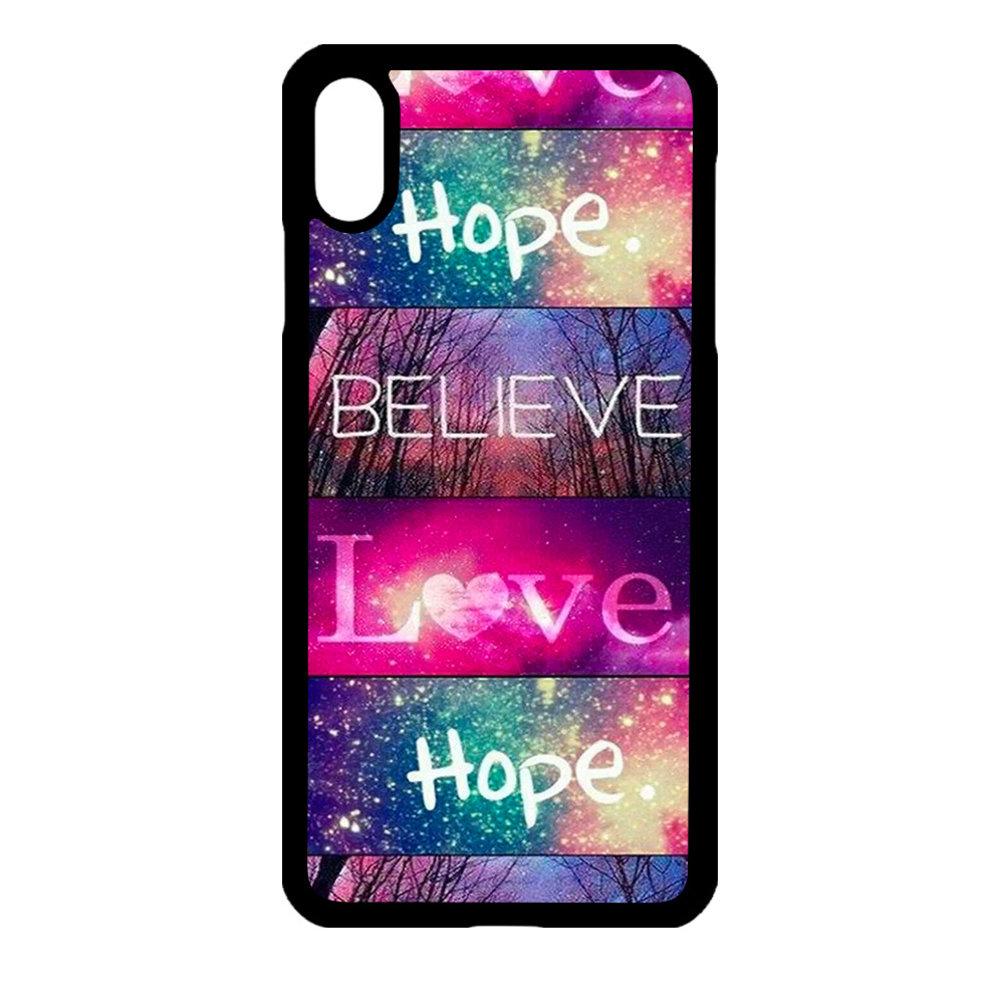 Artbandits iPhone XR - Believe Love Hope