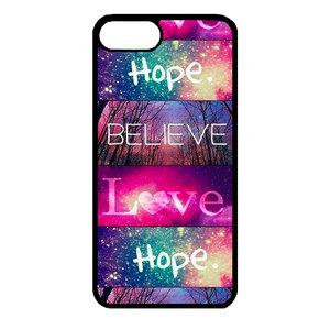 Artbandits iPhone 7+ en iPhone 8+ Believe Love Hope