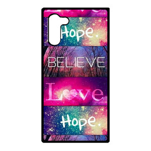 Artbandits Samsung Galaxy Note 10 - Believe Love Hope
