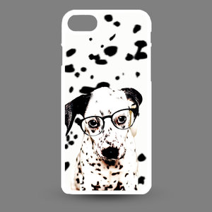 Artbandits iPhone SE(2020) , iPhone 8 en iPhone 7 - Dalmatier pup met bril