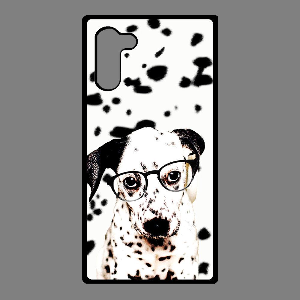 Artbandits Samsung Galaxy Note 10 - Dalmatier pup met bril