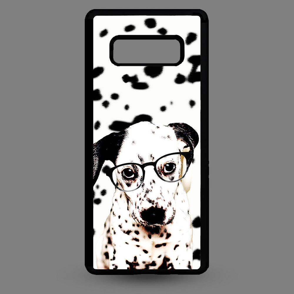 Artbandits Samsung S10e - Dalmatier pup met bril