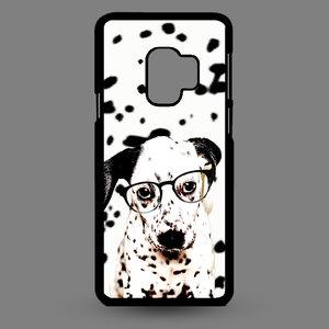Artbandits Samsung S9 - Dalmatier pup met bril
