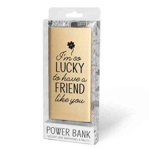 Miko Powerbank 5000 Mah 'So lucky'