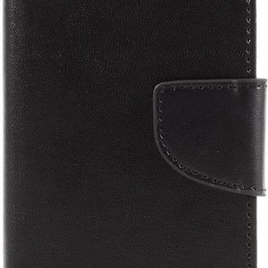 Goospery Bravo Diary Wallet Leren Hoesje iPhone 7 -8 - Se(2020)- Zwart