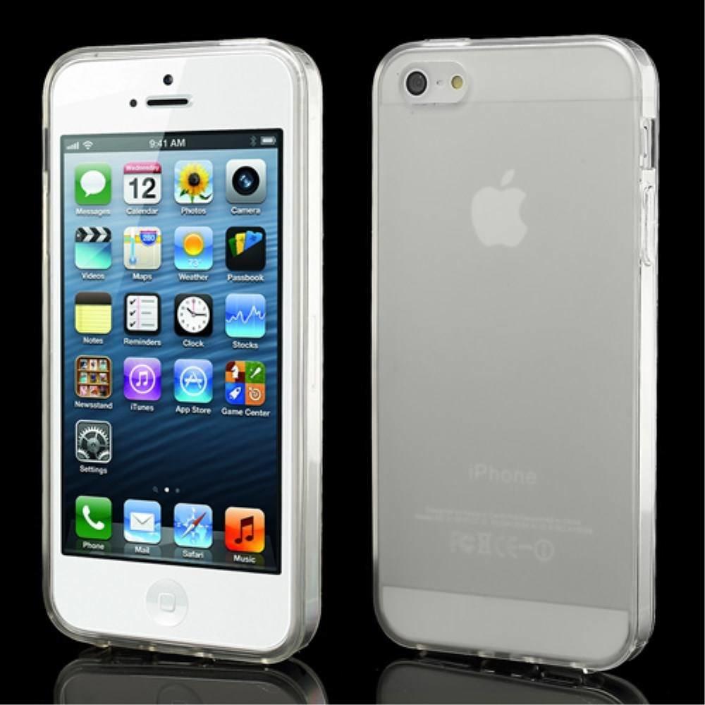 Transparant iPhone SE, 5 en 5S TPU hoesje