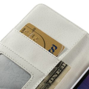 Wit geruit Note 4 portemonnee