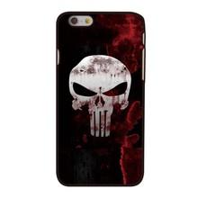 Punnisher achtige Skull hoesje van hard plastic voor de iPhone 6