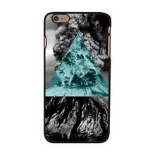 Vulkaan met driehoek iPhone 6 plus