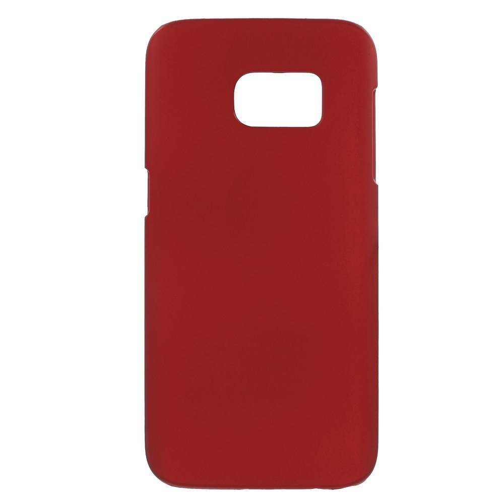 Harde plastic in meerdere kleuren verkrijgbaar met rubber bekleed Galaxy S7 hoesje