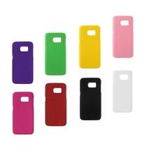 Harde plastic met rubber bekleed Galaxy S7 Edge hoesje