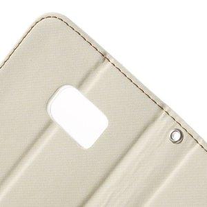 ROAR Wit PU lederen Galaxy S7 portemonnee hoesje