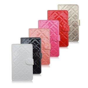 Gewatteerde iPhone 6 PU leren portemonnee hoesje
