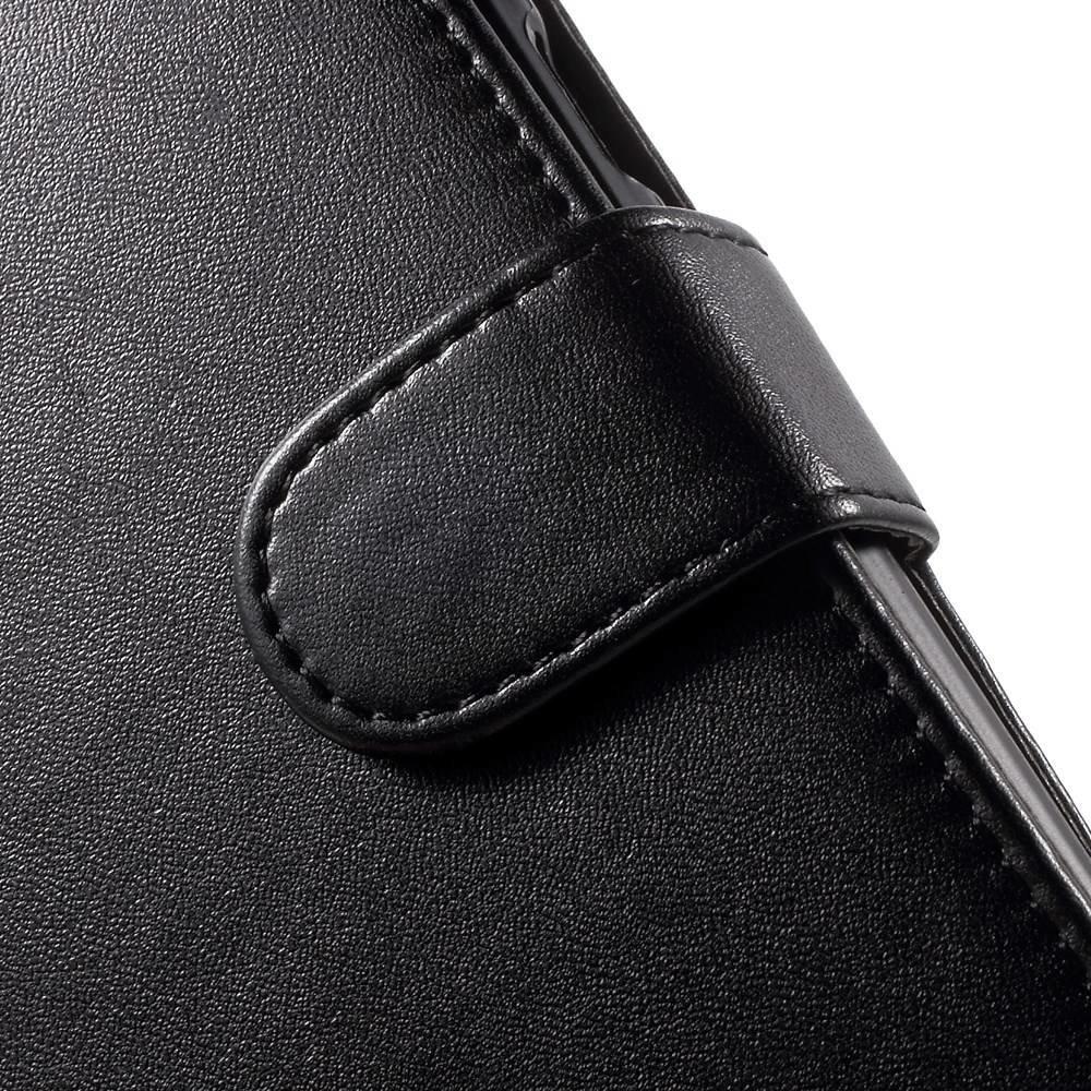 Zwart PU lederen Galaxy J5 portemonnee hoesje