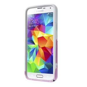 Glow in the dark bloesem TPU hoesje Galaxy S5