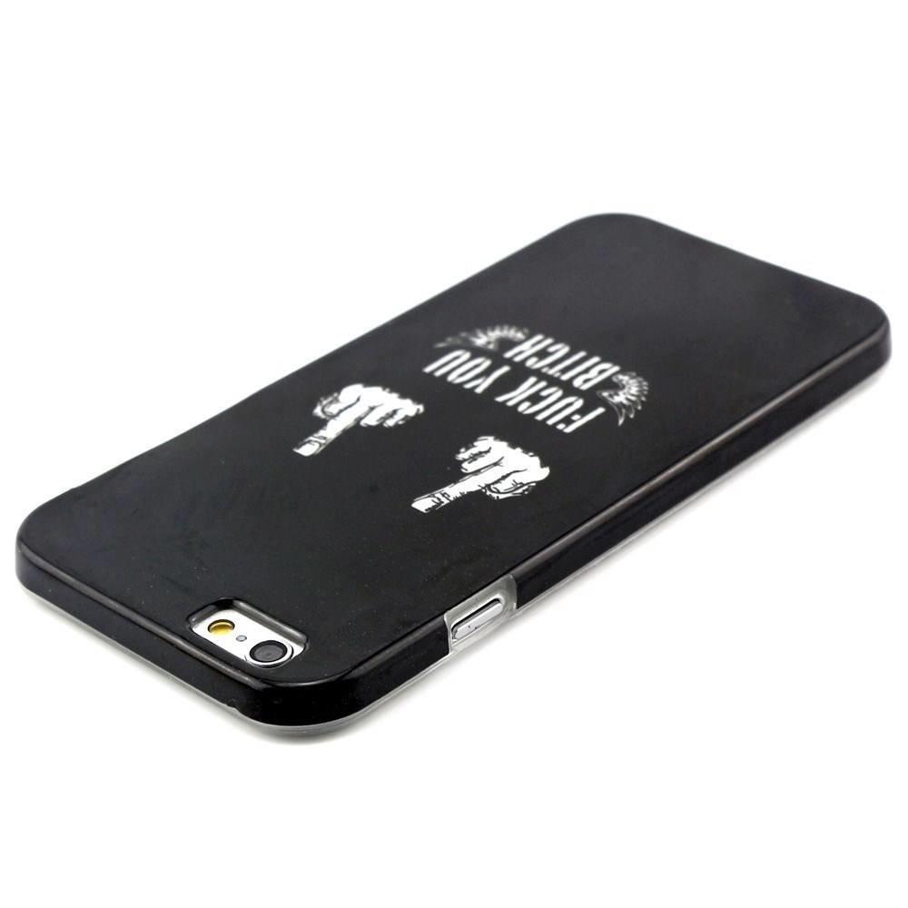 F U b*tch iPhone 6 TPU hoesje